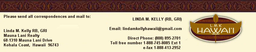 LMK HAWAII LINDA M KELLY